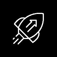 Alt-Tag: Ein aufgeklappter Laptop und eine tippende Person zeigen symbolisch die digitale Arbeitswelt. Icons mit Schlössern, einer Cloud und einem Computer in Icon-Form symbolisieren die Vernetzung verschiedener Prozesse durch Digitalisierung