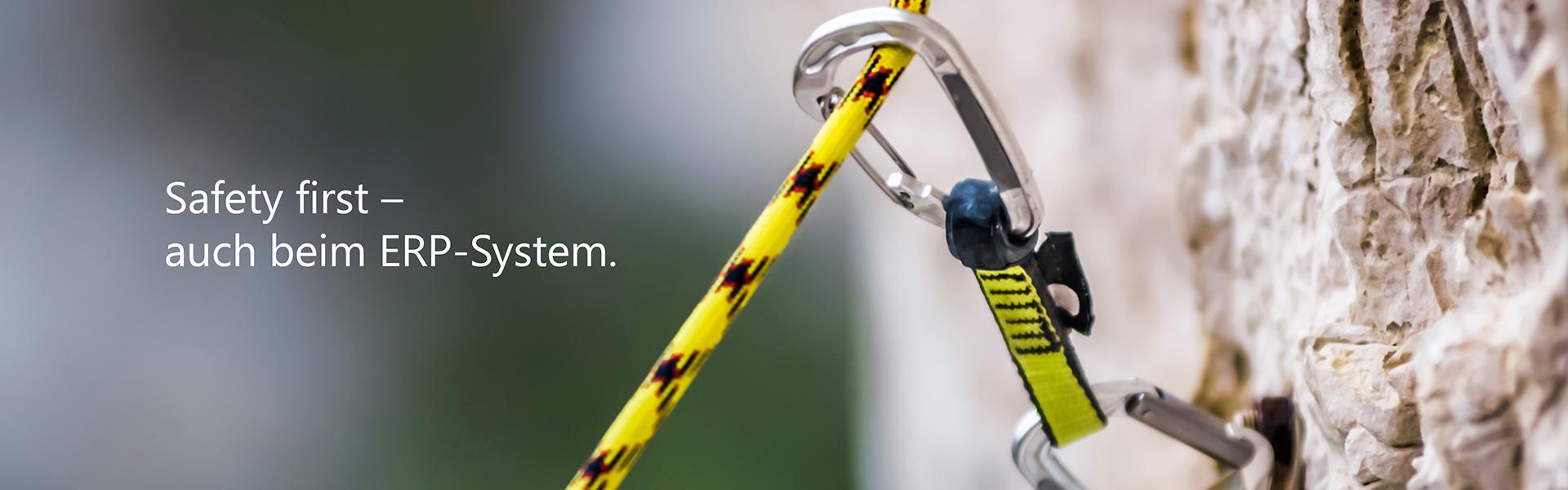 Safety first - auch beim ERP-System