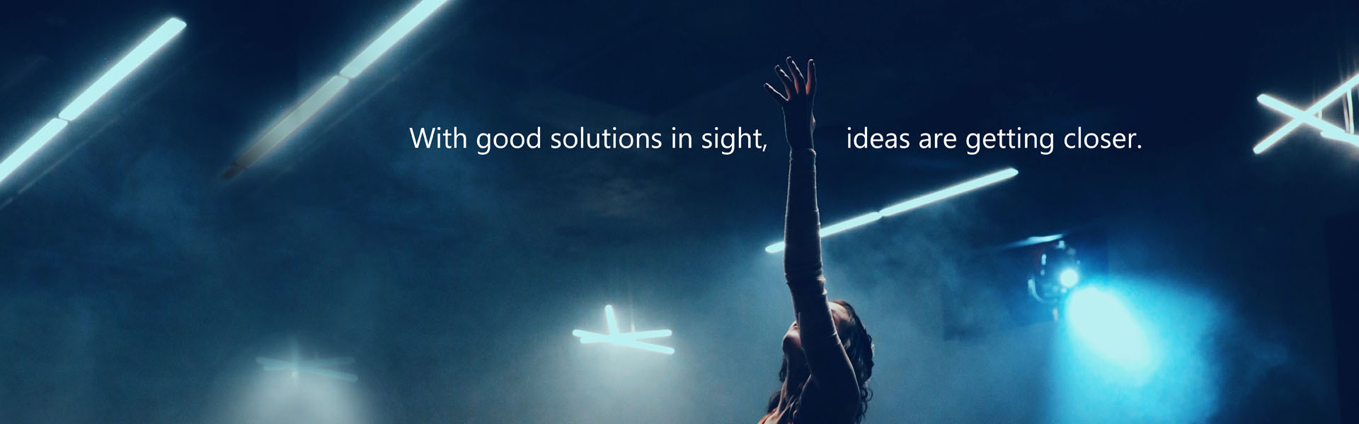 With good solutions in sight, ideas are getting closer.