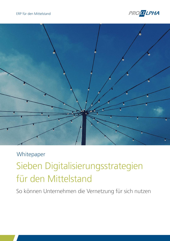 Cover: Whitepaper Digitalisierungsstrategien für den Mittelstand